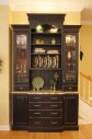 Maitland, Black Distressed Hutch